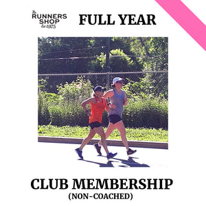 Annual Club Membership (non-coached)
