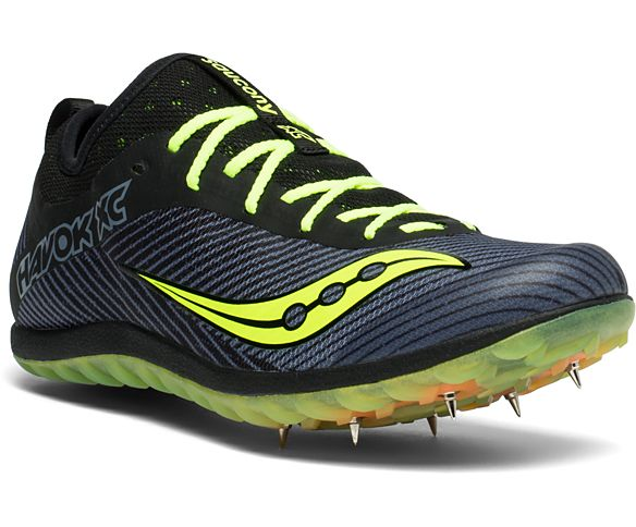 SAUCONY HAVOK XC MENS 6 PIN SOLE CROSS COUNTRY MUD RUNNING SHOES SPIKES 8 10 11