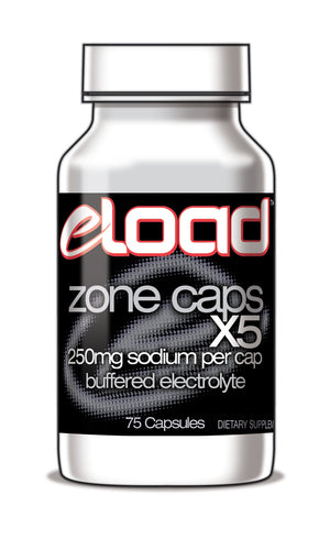 eLoad Zone Caps™ X 5 Buffered Electrolyte Capsules