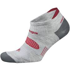 Balega Hidden Dry 2 Sock_grey_red