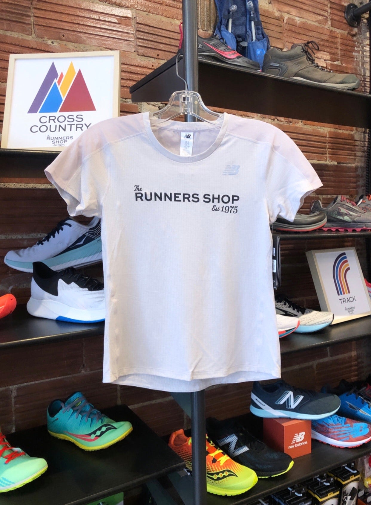 The Runners Shop New Balance Women's Impact Run Short Sleeve