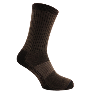 Unisex Wrightsock Merino Wool Stride Sock_brown