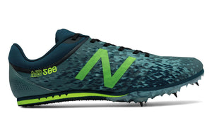 Men's New Balance MMD500v5 Middle Distance Spike_dark grey_green