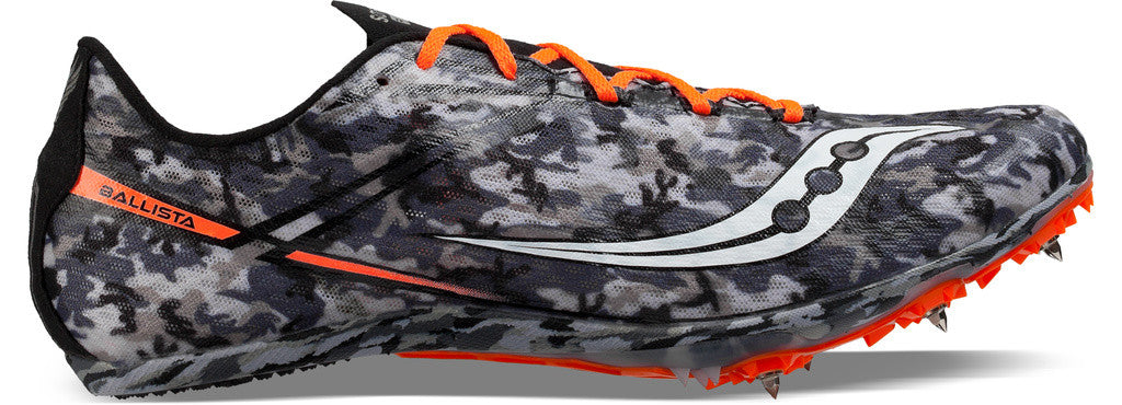Men's Saucony Ballista Middle Distance Spike_grey camo pattern