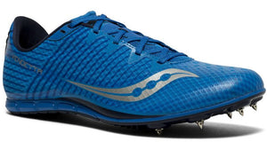 Men's Saucony Vendetta 2 Middle Distance Track Spike_royal_silver