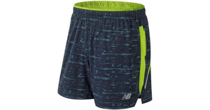 "New Balance Men's Printed Impact 5"" Short"