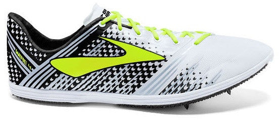 Brooks Unisex The Wire 4 Long Distance Spike_white_black