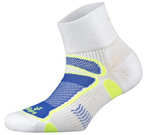 Balega Ultra-Lite Quarter Sock_white_royal