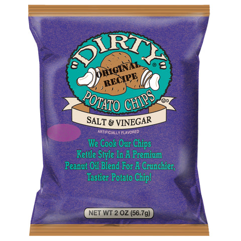 Dirty Potato Chips - (Choose From Five Flavors)
