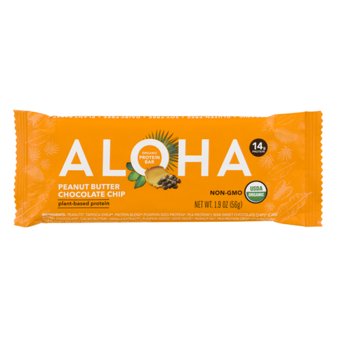 Aloha - Peanut Butter Chocolate Chip Plant-Based Protein Bar