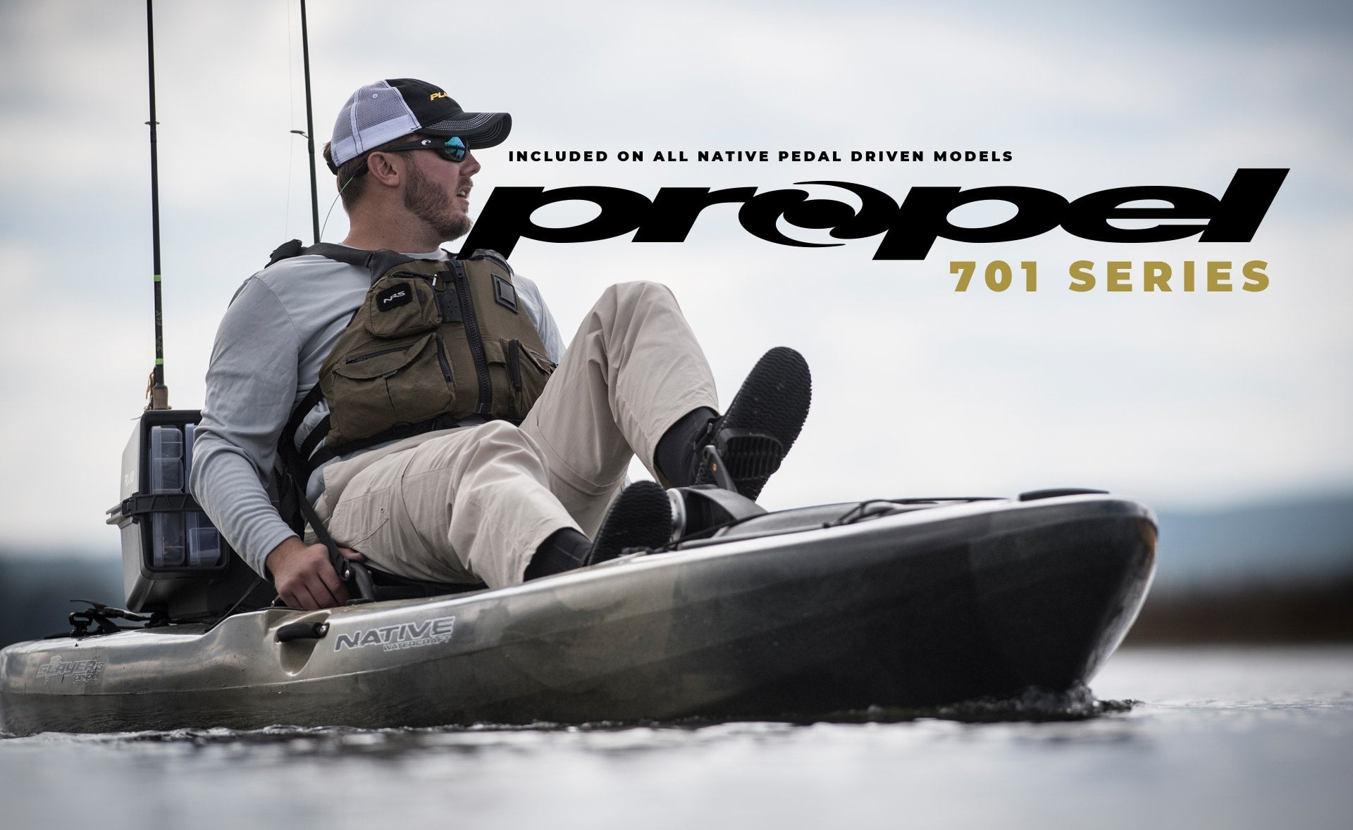 Propel 701 Series: Included on all native pedal driven models