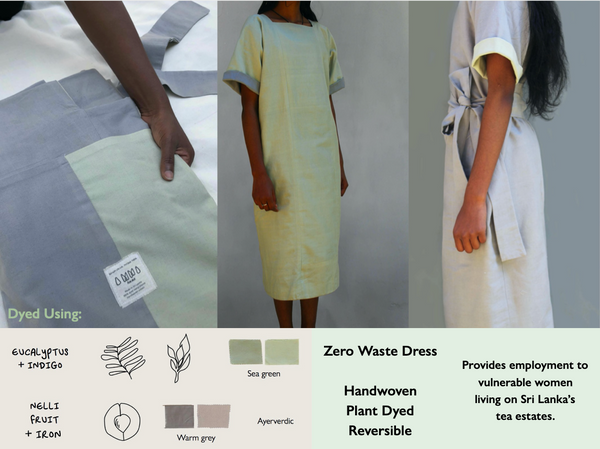 AMMA This Is July Collection, zero waste naturally dyed garments