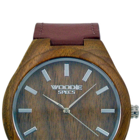 1010 Walnut Wood / Brown Italian Leather