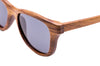 Rosewood sunglasses close up