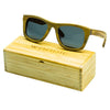 Green sandalwood sunglasses
