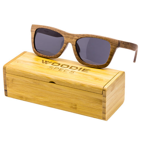 Walnut Wood Sunglasses (Medium)