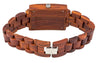 1015 Rectangle Red Sandalwood