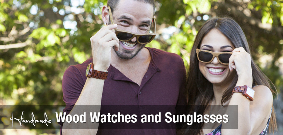 wooden watches and wooden sunglasses by woodie specs. Wood Watch. Wood sunglasses