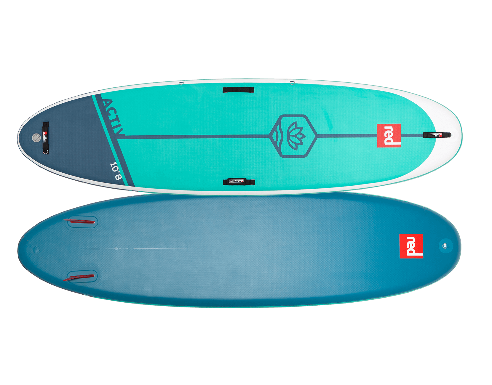 RED PADDLE CO 10'8″ ACTIV MSL INFLATABLE PADDLE BOARD