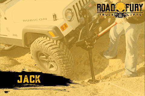 How To Unstuck your Vehicle when Off-Roading: Jack