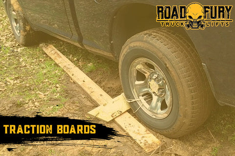How To Unstuck your Vehicle when Off-Roading: Traction Boards
