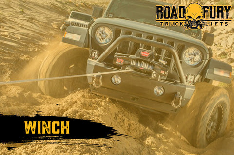 How To Unstuck your Vehicle when Off-Roading: Winch
