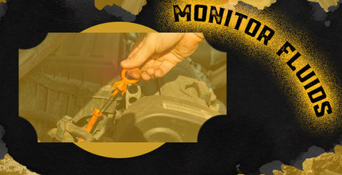 Checking your fluids is especially important for an off-road vehicle.