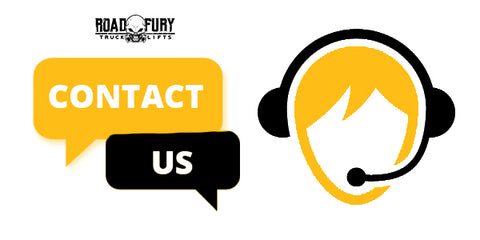 Contact Road Fury Lifts for any questions you may have!
