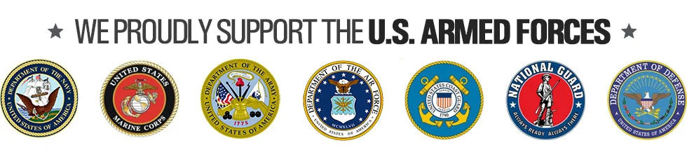 Road Fury Proudly Supports the U.S. Armed Forces