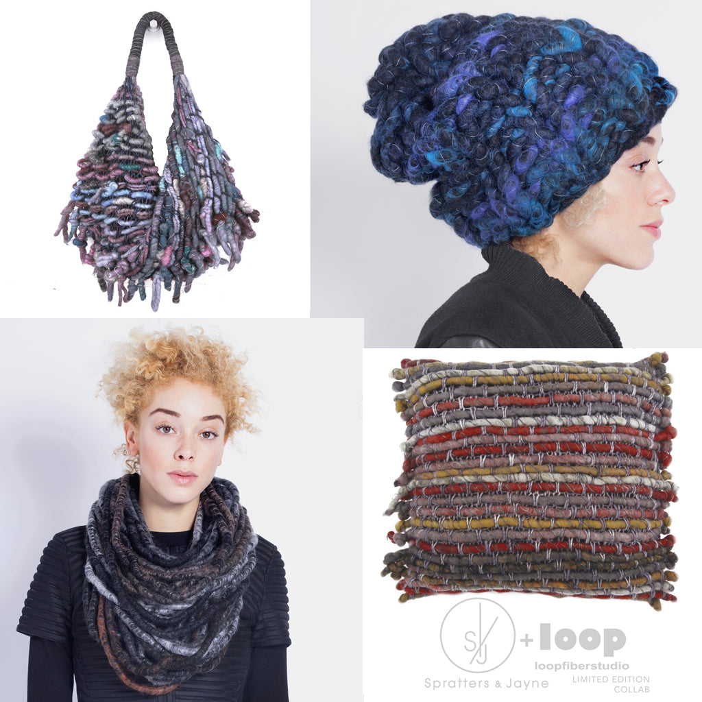Spratters And Jayne Loop Fiber Studio Collab
