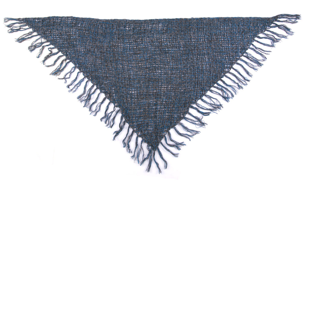 Hand Woven Triangle Wrap