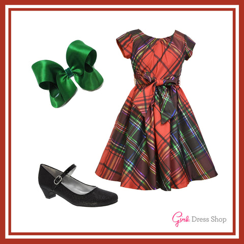 Style tips by girls dress shop mad for plaid