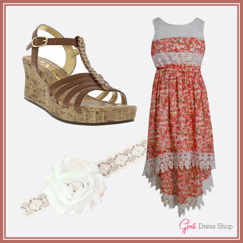 Girls Dress Shop Style Board