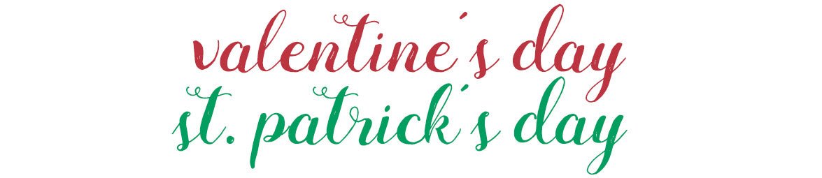 Valentine's Day and St. Patrick's Day Dresses