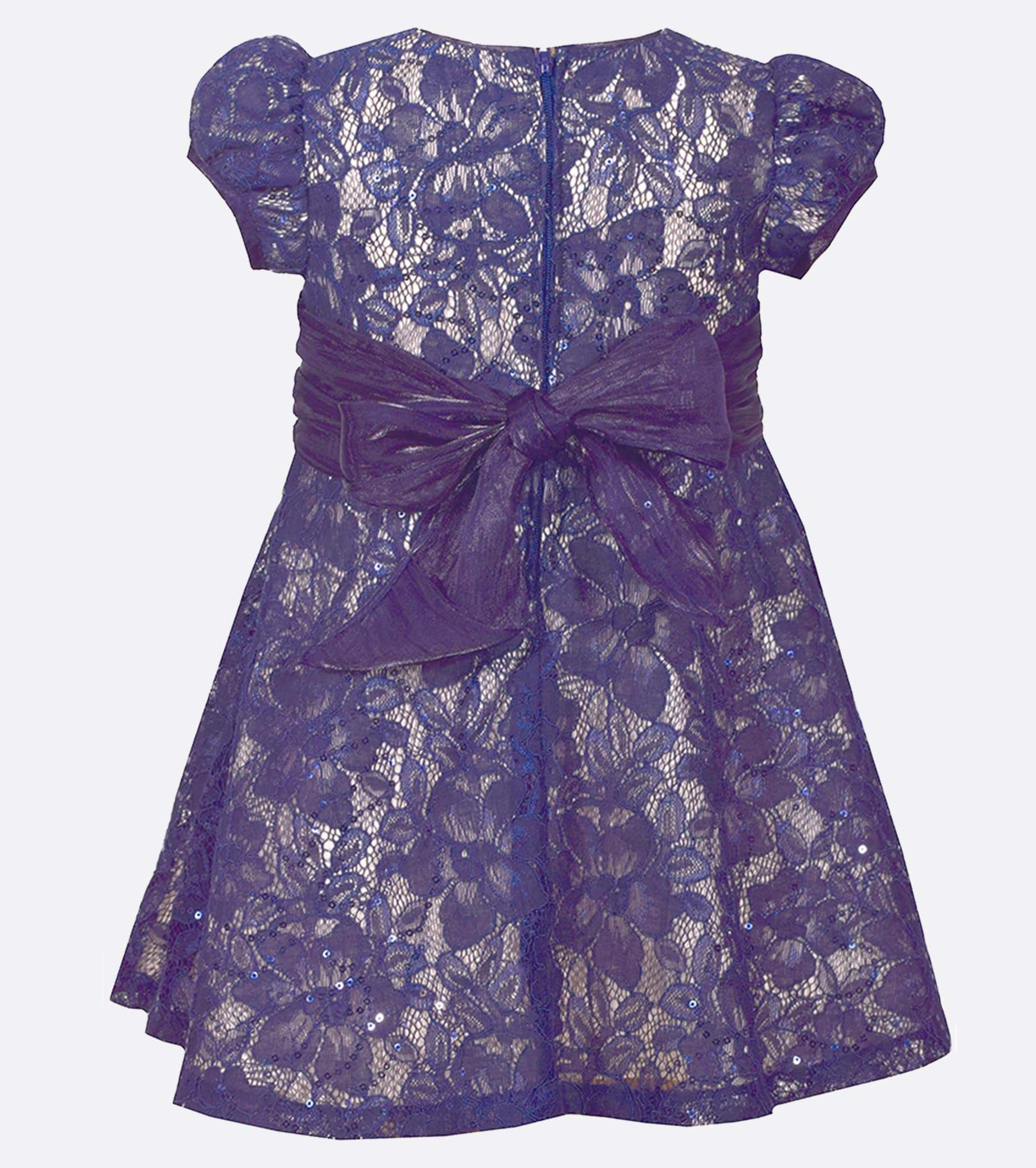 Cap Sleeved Lace   Polly Dress - Bonnie Jean