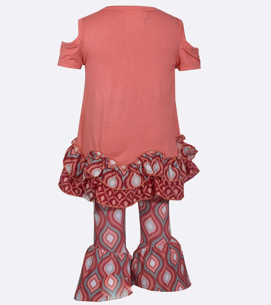legging set, little girl legging set, elephant, cute legging, cute clothes for girls, cute outfit