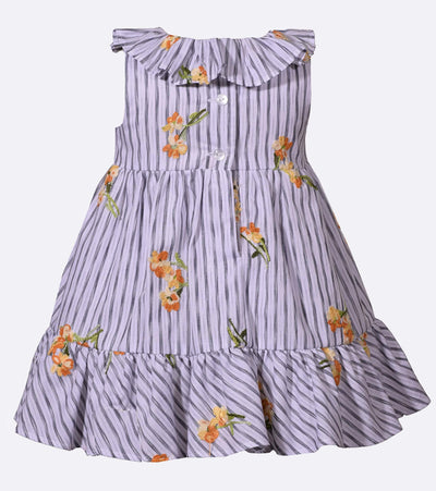 little girls sundress, sundress for girls, floral, ruffle