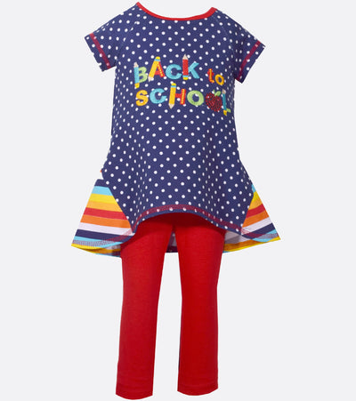 back to school, back to school outfit, cute girls legging, legging set, stripes,