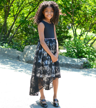 tween fashion, party dress, tween party, lace dress, special occasion, black dress, tween, trendy dress