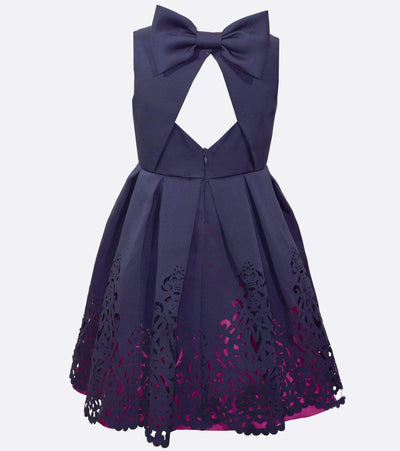 little girl party dress, party dress for little girls, fancy, navy, cute