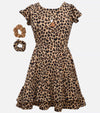 Mandi Cheetah Dress