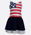 Bonnie Jean American Flag spangle dress