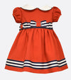 Bonnie Jean Red Nautical Dress