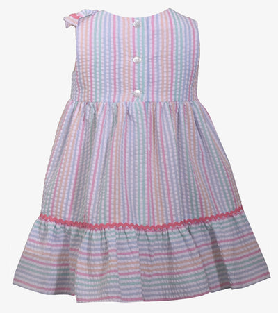Ella Seersucker Stripe Dress