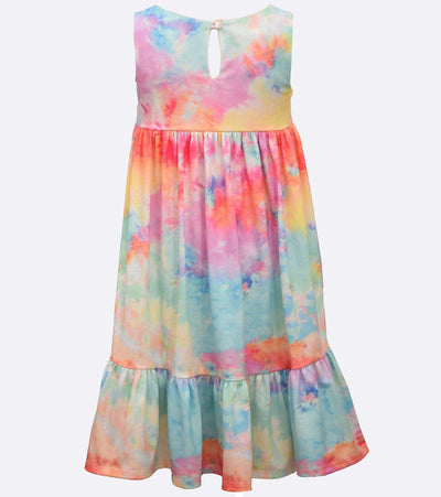 tween tie dye sundress