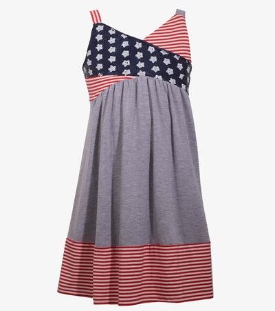 americana dress, plus size girls dress, patriotic, red white and blue, fourth of july