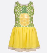Bonnie Jean Pineapple Sequin Dress
