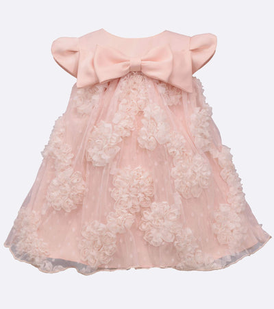 Matching sister party dress with bonaz skirt with bow