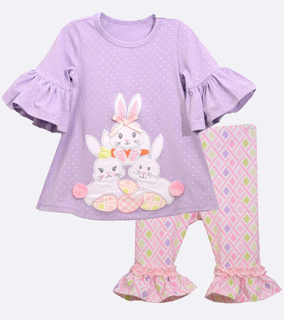 Pia Bunny Applique Legging Set
