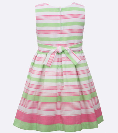 Rachel Linen Stripe Dress